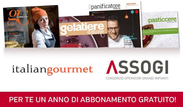 Al via la collaborazione con l'editore Italian Gourmet