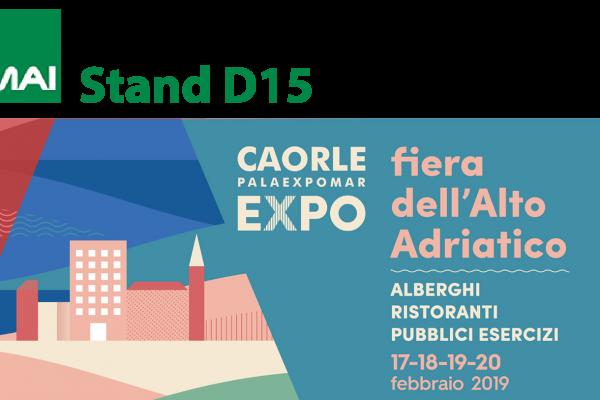 Fiera dell'Alto Adriatico a Caorle 2019 stand D15 Tamai Food Equipment