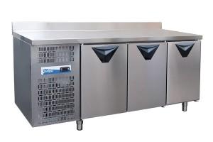 Tavolo frigo 3 porte QUCINO